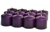 Unscented Lilac Votives 10 Hour