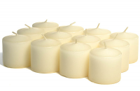 Unscented Bulk Ivory Votives 288 Pack 10 Hour