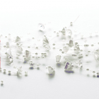 Beaded Garland White