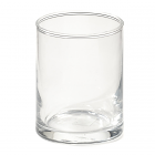 Straight Sided Votive Cup Clear