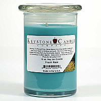 12 oz Fresh Rain Soy Jar Candles