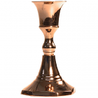 Copper Taper Holder 3.75 Inch