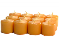 Unscented Harvest Votives 10 Hour