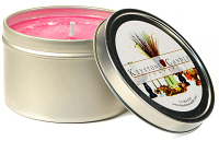 Sweetheart Rose Candle Tins 8 oz