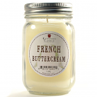 Pint Mason Jar Candle French Butter Cream