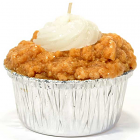 Muffin Shaped Candle Pumpkin Cream Cheese
