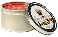 Raspberry Cream Candle Tins 8 oz