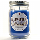 Pint Mason Jar Candle Blueberry Cobbler