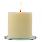 Outdoor Pillar Candles French Vanilla