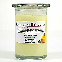 12 oz Honeysuckle Soy Jar Candles
