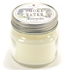 Half Pint Mason Jar Candle Smoke Eater