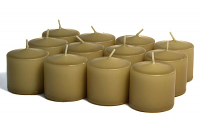 Unscented Parchment Votives 10 Hour