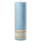 Textured 3x9 Ocean Breeze Pillar Candles