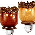 Crown Fleur De Lis Plug-in Tart Burner