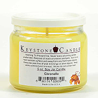 5 oz Citronella Soy Jar Candles