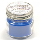 Half Pint Mason Jar Candle Blueberry Cobbler