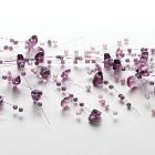 Beaded Garland Purple