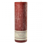 Textured 3x9 Mulberry Pillar Candles