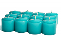 Unscented Mediterranean Blue Votives 10 Hour