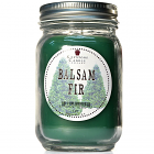Pint Mason Jar Candle Balsam Fir